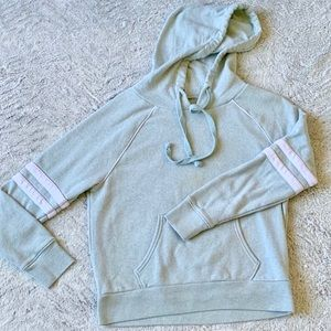 Mint Green Ah-mazingly Soft & Sexy Striped Hoodie